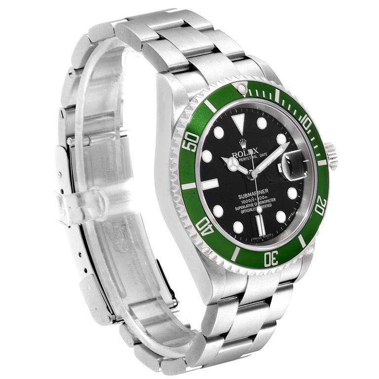 Rolex Submariner 50th Anniversary Green Kermit Men's Watch 16610LV 1