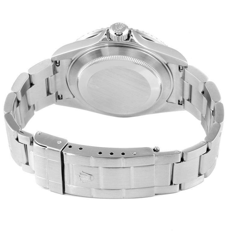 Rolex Submariner 50th Anniversary Green Kermit Men's Watch 16610LV For Sale 6