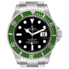 Rolex Submariner 50th Anniversary Green Kermit Men's Watch 16610LV