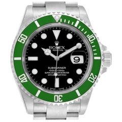 Rolex Submariner 50th Anniversary Green Kermit Watch 16610LV Unworn