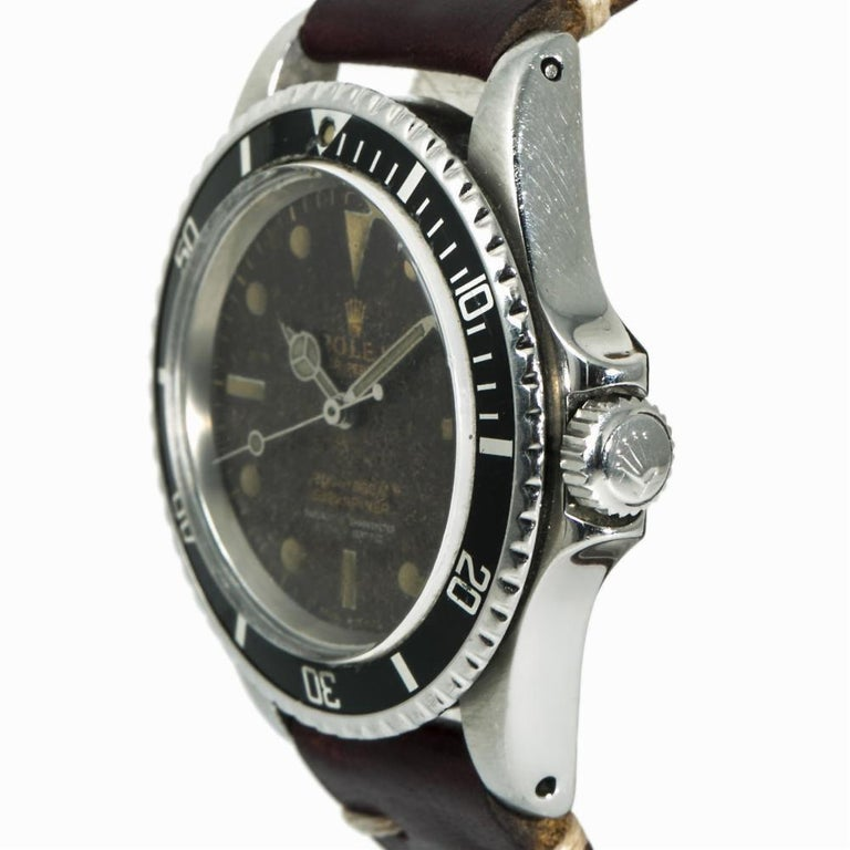 Rolex Submariner 5512, Brown Dial, Certified and Warranty For Sale 1