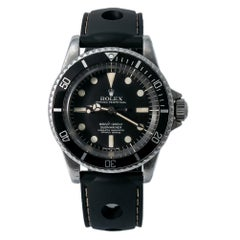 Rolex Submariner 5512, Black Dial, Certified and Warranty