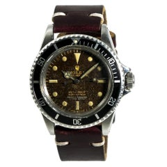 Rolex Submariner 5512, Brown Dial, Certified and Warranty