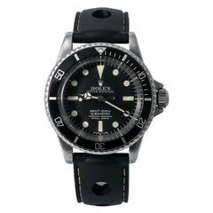 Rolex Submariner 5512, Case, Certified and Warranty