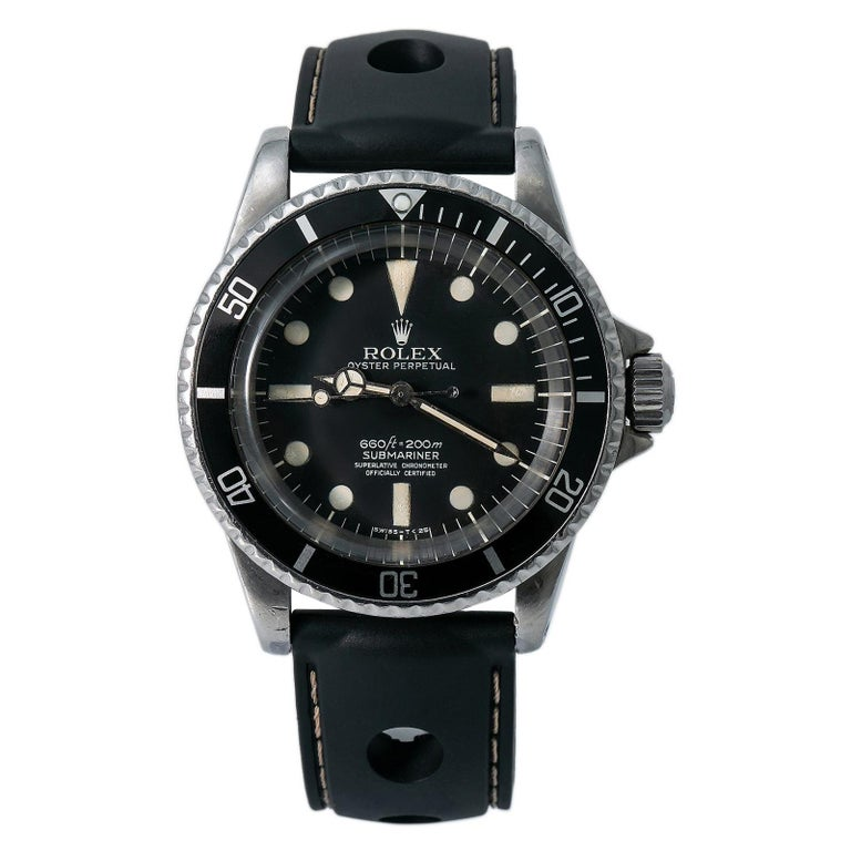 Rolex Submariner 5512, Case, Certified and Warranty For Sale