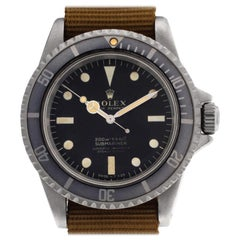 Rolex Submariner 5512, Silver Dial, Certified and Warranty