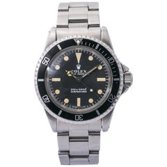 Rolex Submariner 5513 1968 Meters First Vintage Stainless Men's Automatic