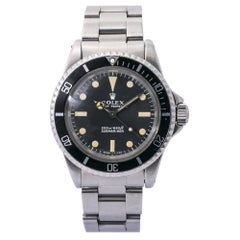 Rolex Submariner 5513 1968 Meters First Vintage Stainless Mens Automatic
