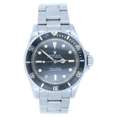 Rolex Submariner 5513 1969 Meters First Vintage Stainless Men's Watch