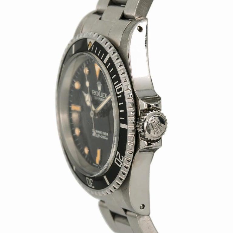 Men's Rolex Submariner 5513, Beige Dial, Certified and Warranty For Sale