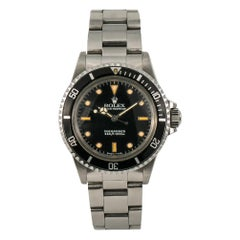 Rolex Submariner 5513, Beige Dial, Certified and Warranty