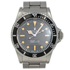 Rolex Submariner 5513, Case, Certified and Warranty