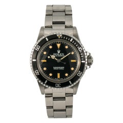 Rolex Submariner 5513, Case, Certified and Warranty