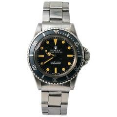 Rolex Submariner 5513; Certified and Warranty