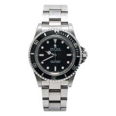 Rolex Submariner 5513, Certified and Warranty
