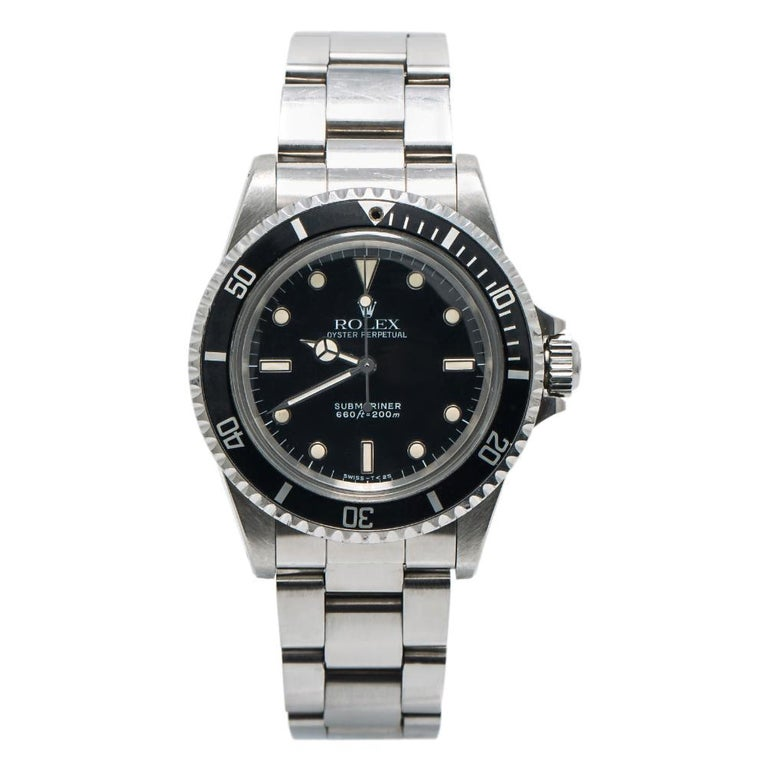 Rolex Submariner 5513, Certified and Warranty For Sale