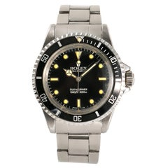 Rolex Submariner 5513 Men's Automatic Vintage Watch Tritium Dial and Hands