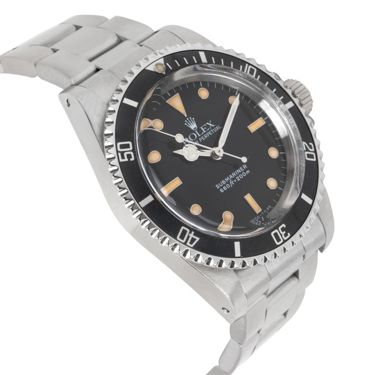 Rolex Submariner 5513 Men's Watch in Stainless Steel For Sale 1