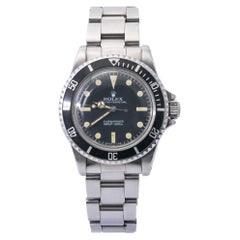 Rolex Submariner 5513 Stainlesss Steel Mens Automatic Bidirectional