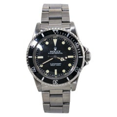 Rolex Submariner 5513 Vintage 8.1 Serial Matte Dial Automatic Mens Watch