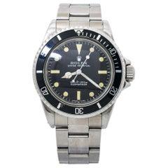 Rolex Submariner 5513 Vintage Feet First Matte Mens Automatic Watch