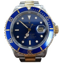 Rolex Submariner, Bi-Metal, Model Number 16613, Registered 1994