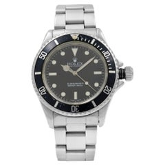Rolex Submariner Black Dial No Date Stainless Steel Automatic Men's Watch 14060M