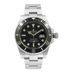 Rolex Submariner Black on Black 116610LN Stainless Steel Automatic Men's Watch