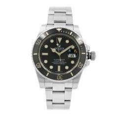 Rolex Submariner Black on Black 2010 Steel Ceramic Automatic Mens Watch 116610LN