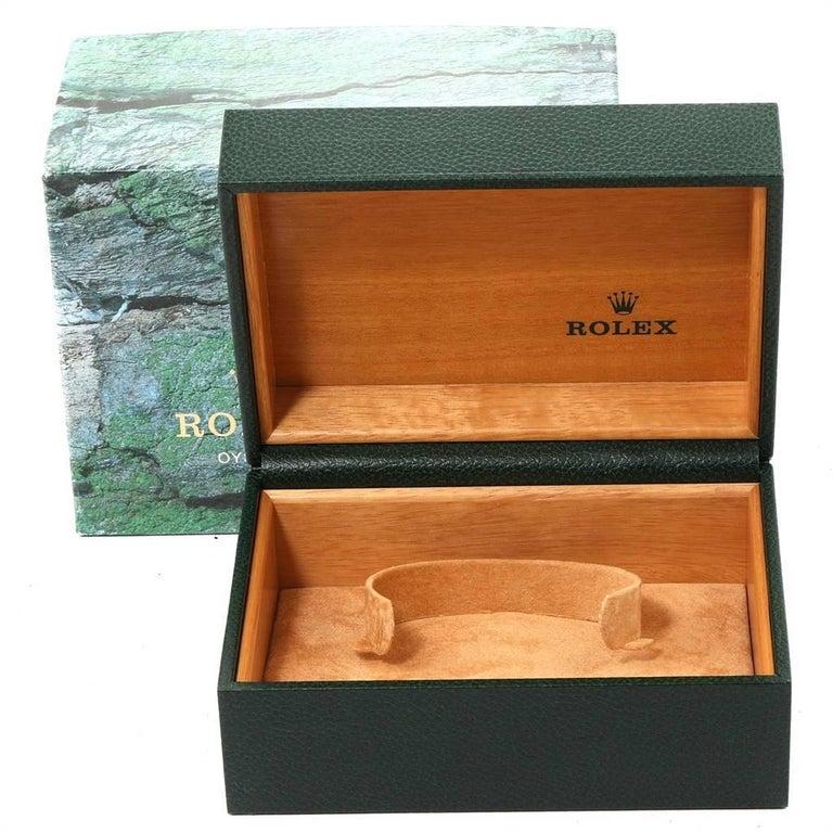 Rolex Submariner Blue Dial Bezel Steel Yellow Gold Men's Watch 16613 For Sale 8