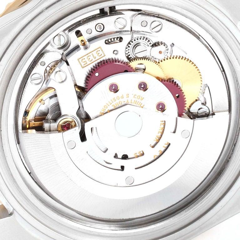 Rolex Submariner Blue Dial Bezel Steel Yellow Gold Men's Watch 16613 4