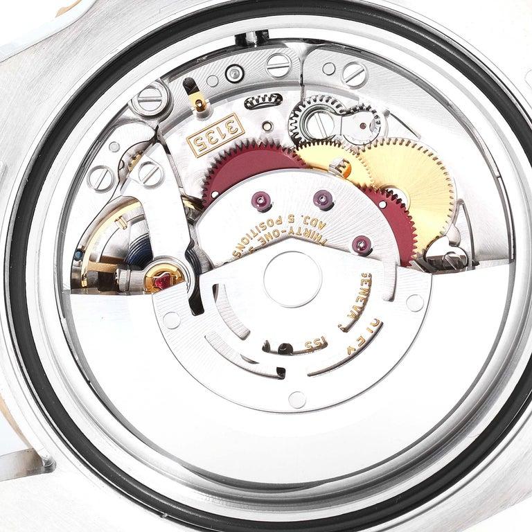 Rolex Submariner Blue Dial Steel Yellow Gold Men's Watch 116613 Box Card 5