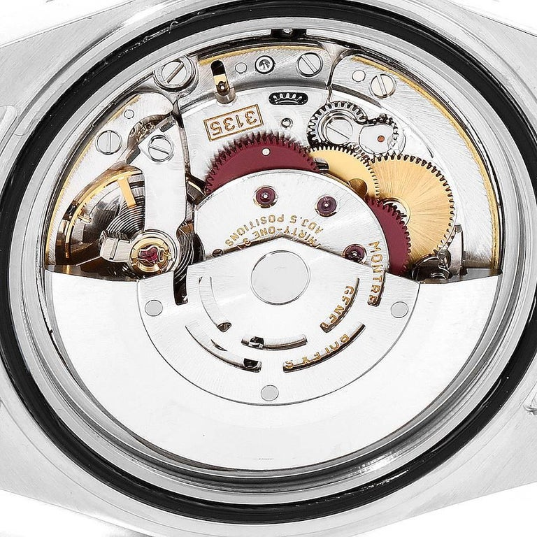 Rolex Submariner Blue Dial Steel Yellow Gold Men's Watch 16613 5