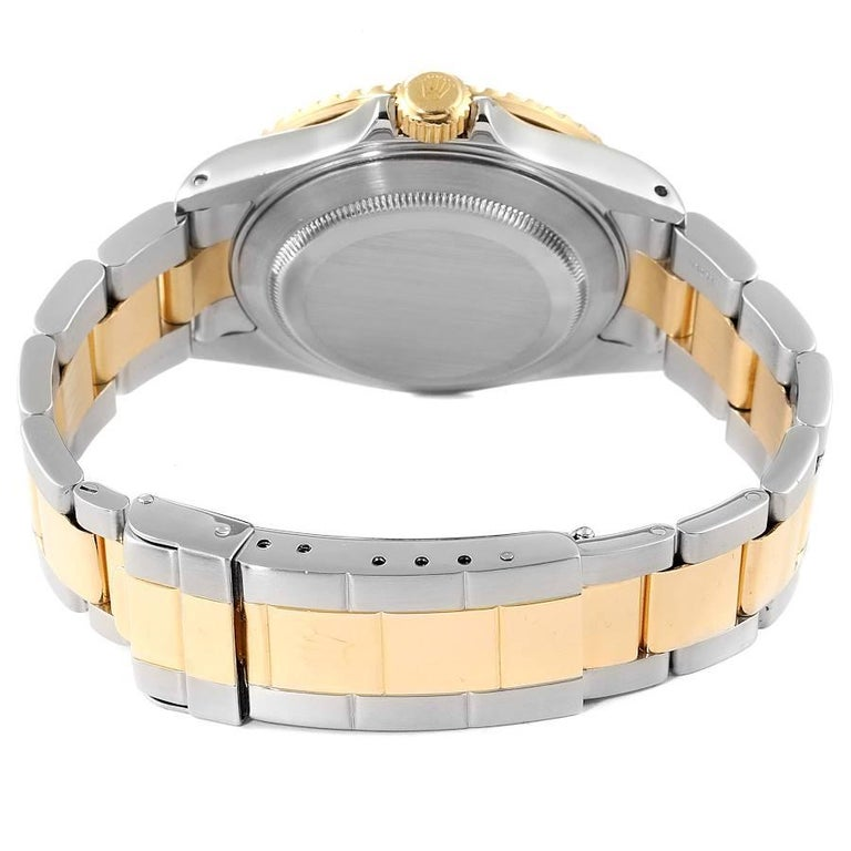 Rolex Submariner Blue Dial Steel Yellow Gold Mens Watch 16613 5