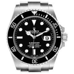 Rolex Submariner Cerachrom Bezel Oystersteel Mens Watch 126610 Unworn