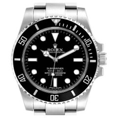 Rolex Submariner Ceramic Bezel Oyster Bracelet Steel Men's Watch 114060
