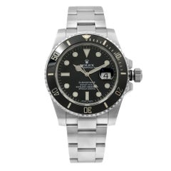 Rolex Submariner Ceramic Bezel Steel Black Dial Automatic Men's Watch 116610LN