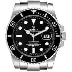 Rolex Submariner Ceramic Bezel Steel Men's Watch 116610 Box Card