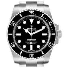 Rolex Submariner Ceramic Bezel Steel Watch 114060 Box Card Unworn