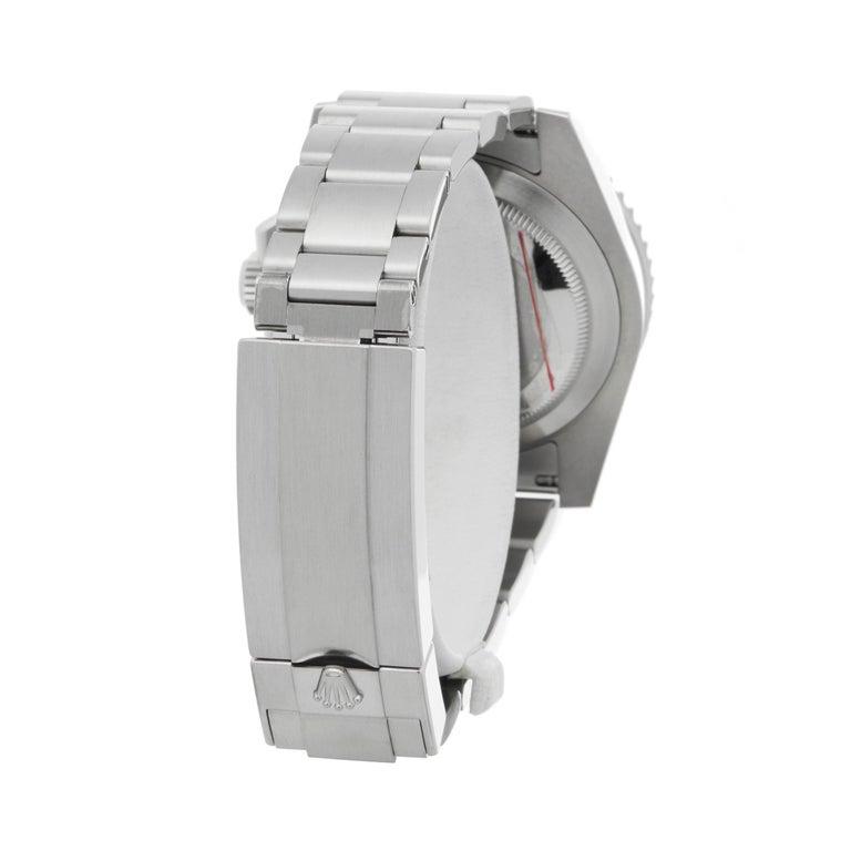 Rolex Submariner Date 116610LV Men's Stainless Steel Hulk Watch 2