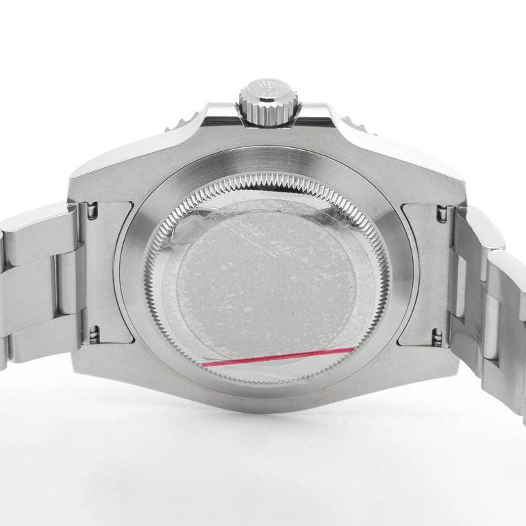 Rolex Submariner Date 116610LV Men's Stainless Steel Hulk Watch 3