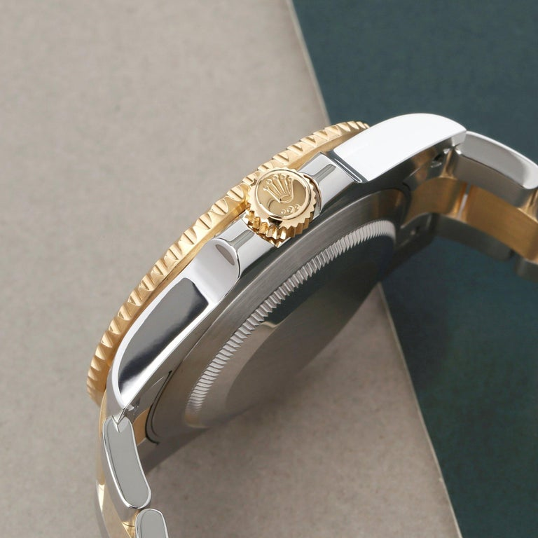 Rolex Submariner Date 116613 Men's Yellow Gold & Stainless Steel 0 Watch For Sale 1
