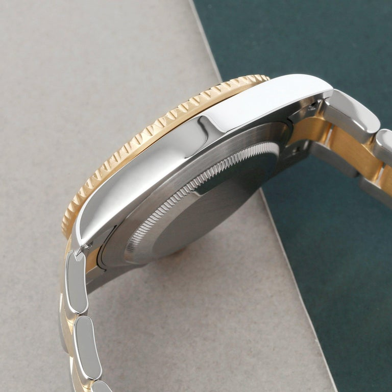 Rolex Submariner Date 116613 Men's Yellow Gold & Stainless Steel 0 Watch For Sale 2