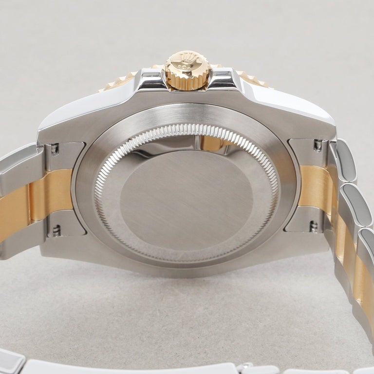 Rolex Submariner Date 116613 Men's Yellow Gold & Stainless Steel 0 Watch For Sale 4