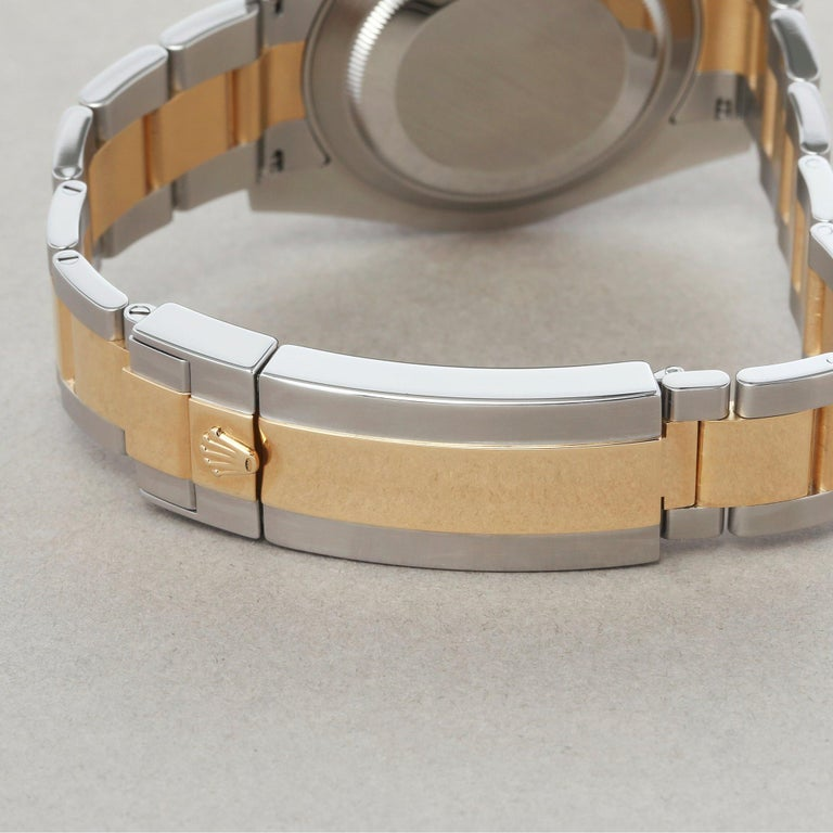 Rolex Submariner Date 116613 Men's Yellow Gold & Stainless Steel 0 Watch For Sale 5