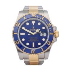Rolex Submariner Date 116613 Men's Yellow Gold & Stainless Steel Watch