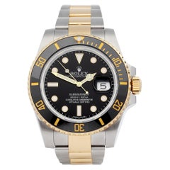 Rolex Submariner Date 116613 Men's Yellow Gold & Stainless Steel 0 Watch