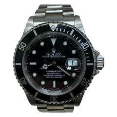 Rolex Submariner Date 16610 Black Dial Stainless Steel