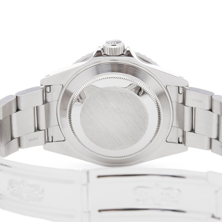 Rolex Submariner Date 16610 Men's Stainless Steel Watch For Sale 3