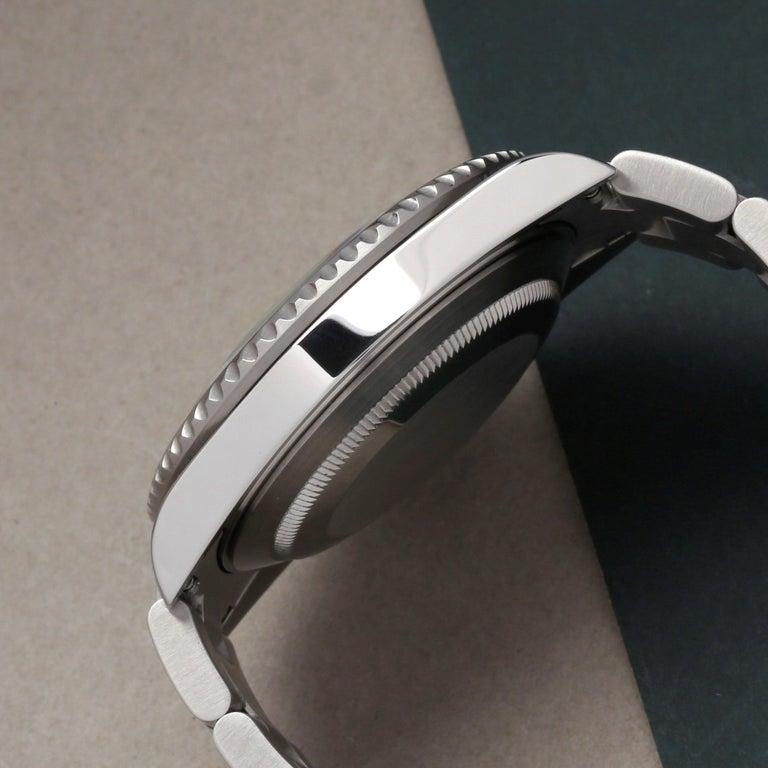 Rolex Submariner Date 16610LV Men's Stainless Steel Kermit' Watch For Sale 2